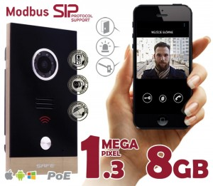 Wideodomofon IP Safe G06MP iOS, Android